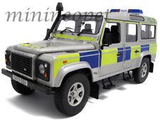 UNIVERSAL HOBBIES 3885 LAND ROVER DEFENDER 110 STATION WAGON UK POLICE 1/18