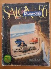 RARE L'AUTOMOBILE SALON DE L'AUTO 1956