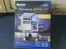 New listing Reliance Back-Up Power 6-Circuit Complete Transfer Switch Kit Model 306Lrk - New