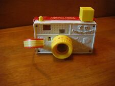 Vintage Fisher-Price #784 Picture Story Camera 1967 - Wooden w/ Plastic Accents