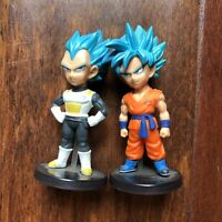 Banpresto Dragon Ball Z Goku & Vegeta Super Saiyan God Anime Mini Japan 2011