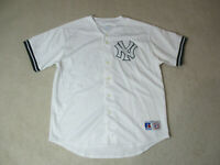 VINTAGE Russell Athletic New York Yankees Baseball Jersey Adult Extra Large 90s