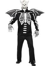 Gothic Skelett Krieger Halloween Kostüm Dämon Skelettkostüm Horrorkostüm neu