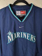 Vintage NIKE TEAM Seattle Mariners MLB Pullover Windbreaker Jacket Mens Medium M