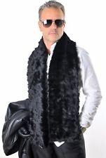 Men's Luxury fur scarf scuirrel Pelz Schal Feh pelliccia  sciarpa écharpe Piel