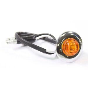 "AMBER LED 3/4""  ~ Clearance/ Marker Light ~ 12V ~ Optronics MCL11AKA12PG"