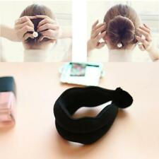 Hair Styling Magic Sponge Clip Foam Donut Bun Curler Tool Maker Ring-Twist