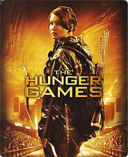 The Hunger Games (Blu-ray + Digital HD) Steelbook New Bestbuy Exclusive NEW BNWT