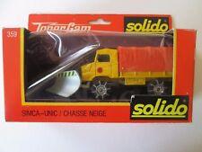 Solido Toner Gam Simca-Unic Chasse Neige