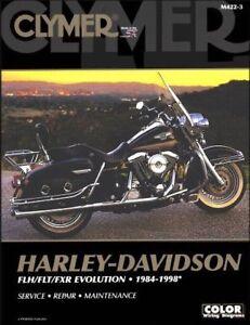 1984-1998 Harley Davidson Road King Electra Tour Glide CLYMER REPAIR MANUAL M422