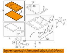 VW VOLKSWAGEN OEM 12-15 Passat-Sunroof Moonroof Glass 561877071A