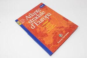 ATLANTE STRADALE D'EUROPA TOURING CLUB ITALIANO  2002 [Z42-048]