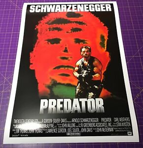 PREDATOR (1987) • A1 size poster • FREE DELIVERY