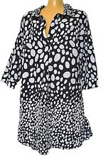 TS top TAKING SHAPE VIRTU plus sz XL / 24 Elliott Shirt 100% natural cotton NWT!