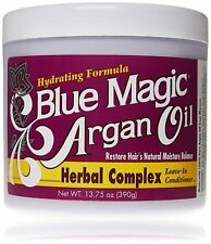 [BLUE MAGIC] ARGAN OIL HERBAL COMPLEX LEAVE-IN CONDITIONER 13.75OZ