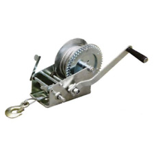 Pulling Winch with Steel Cable & Hook Reversible Ratchet Puller 1200Lb Capacity