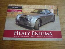HEALEY ENIGMA KIT CAR BROCHURE