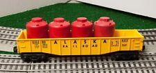 Lionel 6162-60 Yellow Alaska Gondola