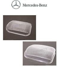 Mercedes R170 W203 W215 Pair Set of Front Left and Right Fog Light Lens Genuine