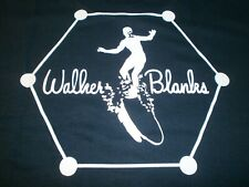 WALKER BLANKS LONG BOARD S/S LARGE LOGO ON BACK WITH SMALL LOGO ON LEFT CHEST