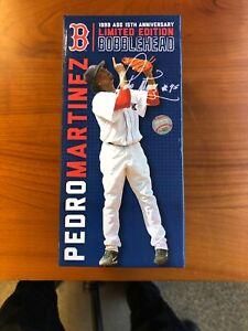 Boston Red Sox Limited Edition Pedro Martinez Bobblehead New in Box