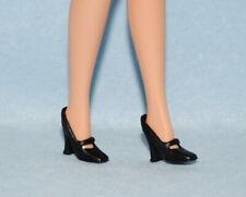 BUSINESS SEXY! Black Mary Jane Dress High Heels BARBIE Shoes Fashion Accessory