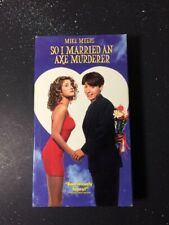 So I Married an Axe Murderer (VHS, 1993) Mike Myers - Comedy - Non-Rental