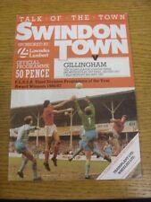Swindon Town Teams S-Z Division 3 Final Football Programmes