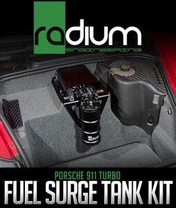 2001-2005 PORSCHE 911 TURBO 996 TT S X50 RADIUM WALBRO E85 450LPH SURGE TANK KIT