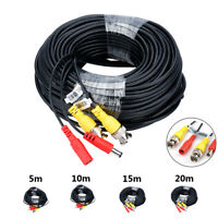BNC DC Power Lead CCTV Security Camera DVR Video Camera Extension Cable 5-20m* .