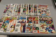 Complete Set Run Avengers 220-239 223 227 Captain Marvel Perez Hawkeye Vision