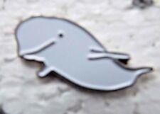 Beluga Whale enamel pin lapel badge Seaside wildlife