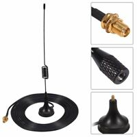 High Gain 433MHz Vehicle Mount Mobile Radio SMA Antenna+ Magnetic Base 3M Cable