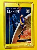 Kobe Bryant OPTIC ALL CLEAR FOR TAKEOFF SPECIAL INSERT PANINI DONRUSS #15 - Mint