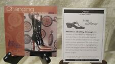 """Just The Right Shoe Raine """" Oasis"""" 25448 Coa Step Into Summer 2001 New"""