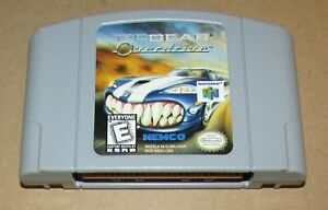 Top Gear Overdrive for Nintendo 64 Fast Shipping! Authentic