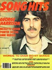 Song Hits Magazine #162 August 1979 George Harrison, Pointer Sisters Anne Murray