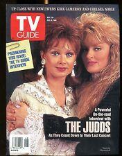 TV Guide Magazine November 30-December 6 1991 The Judds EX No ML 122016jhe
