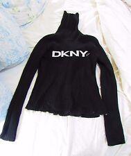 Black 100% cotton DKNY Active jumper - L (fits medium)
