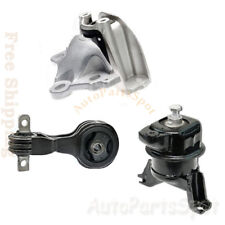New G255 For 2006-2011 Honda Civic 1.3L Hybrid Engine Transmission Mounts Set