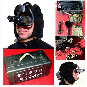 Nachtsichtgerät Infrarot NVA Panzerhaube Gr. 57-60 Nigh Vision Tier-Beobachtung