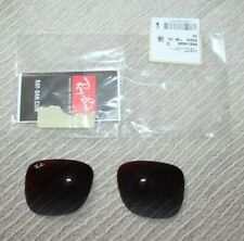 Genuine lenses for Ray-Ban Justin 4165 Sunglasses. Grey Grad Mirror Red 51mm New