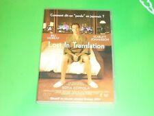 DVD  LOST IN TRANSLATION    SOFFIA COPPOLA       fr engl  st fr      neuf