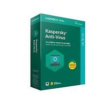 Kaspersky Antivirus 2018 - 3 PC - 1 An - BOITE