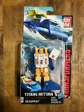 Transformers Generations Titans Return Autobot Seaspray Loose Complete w/ Pkging