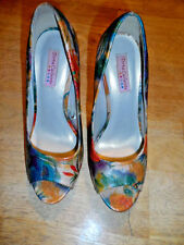 "WOMENS TORTA CALIENTE SHOES-5"" STILETTO HEELS-OPEN TOE-SIZE 7"