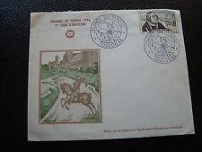 FRANCE - enveloppe 1er jour 17/3/1956 (journee du timbre) (cy57) french