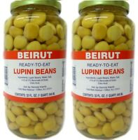 Lupini Beans by Beirut 32oz / 946mL - Pack of 2 - حب ترمس بيروت