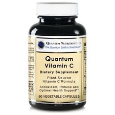 Quantum Vitamin C, 60 Vegetarian Capsules - Plant-Source Vitamin C Formula -...