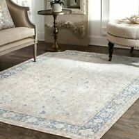 nuLOOM Traditional Vintage Karla Area Rug in Light Blue